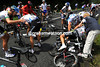 The victims include Vande Velde, Cancellara, Velits, Flecha and Cavendish - and many, many more...