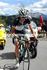 Andy Schleck has attacked from the peloton - and no-one chases him...