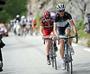Schleck joins Evans and nullifies the attacking...