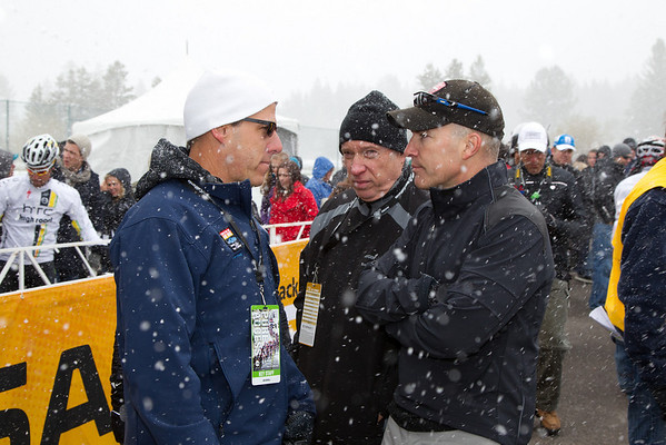 After that discussion ended, Jim Burrell, David Saltzman, and Andrew Messick discuss reviewed input from staff out along the route before making a final decsion.