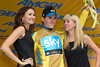 Ben Swift has also won the golden fleece, the Gold race leader's jersey.