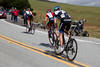 Horner has the legs today. He lifts the tempo and easily leaves Hesjedal and Leipheimer.