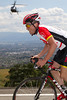 Horner seems to be flying up this climb, without the aid of the helicopter...