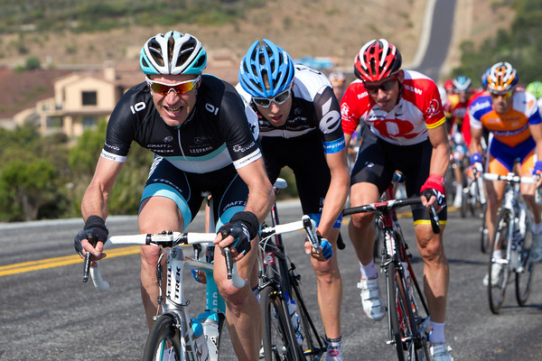 Jens Voigt is starting things off early with an attack...