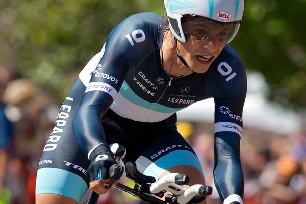 Linus Gerdemann took 15th for Leopard TREK, 1:27 off the pace.