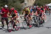 As others fall off the pace among the crowds, the selection has been made - only Schleck and Ten Dam have been able to match the pace of RadioShack this far. The count is down to five...