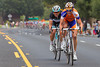 Once on the finishing circuits in Thousand Oaks, Tjallingii and Mortenson attack with four to go, hoping to steal a win...