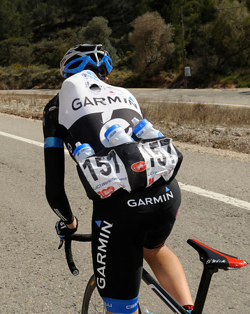 Travis Meyer is chief bottle fetcher for Garmin today...