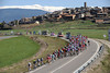 Stage four saw the race speed out of the Pyrenees and head towards an expected sprint-finish in El Vendrell...