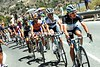 Zaugg and Roghregger are doing all the work for Leopard-Trek at the front of the peloton...
