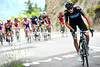 Chris Froome now attacks - but no-one follows him...