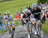 Schleck is also giving his all to the escape, with Sagan, Fuglsang, and Ten Dam still with him...