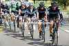 Team Sky stakes its case for respect by leading the chase into some growing crosswinds...