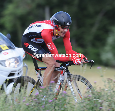 Andreas Kloden took 2nd-place today, just nine-seconds down on the winner..!