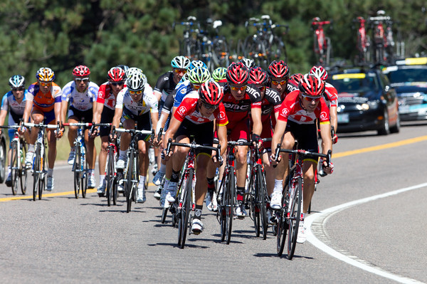 Hincapie, Voigt and others are close behind...