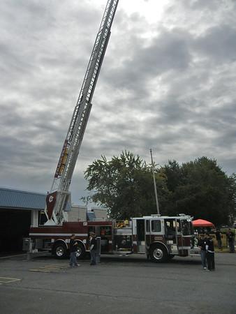 FIRE DISTRICT 43 FRACKVILLE LADDER 43-20 HOUSING  9-17-2011