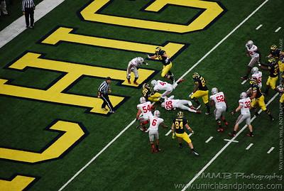 Not touchdown, touchdown. :(