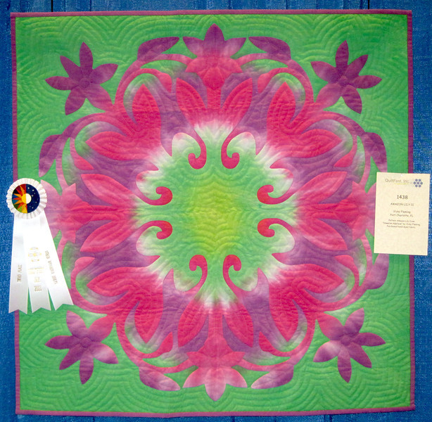Third Place<br /> Amazon Lily II<br /> Vicky Fleming