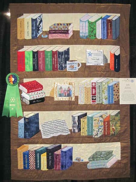 Judge's Recognition<br /> Retirement Bookshelves<br /> Lenore Goodnight