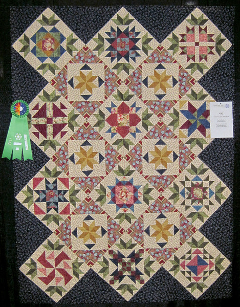 Judge's Recognition<br /> Coastal Quilters BOM<br /> Carole Jackson