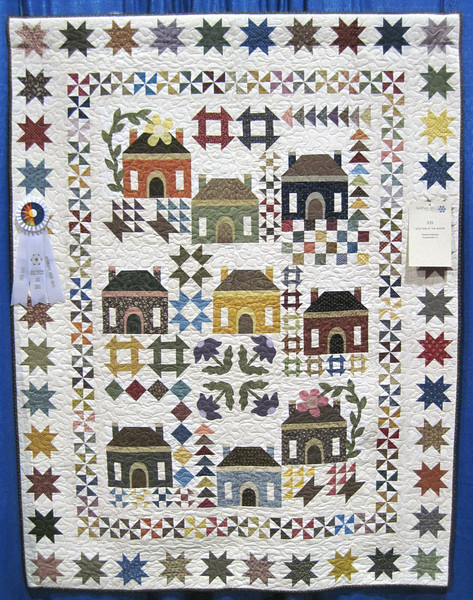 Third Place<br /> Quilting at the Manor<br /> Diane Anderson