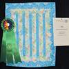 Judge's Recognition<br /> Miniature Batik Braid<br /> Joanne Herman