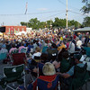Bring your own lawn chair because the bleachers will be full when the Saline Fiddlers are on stage!