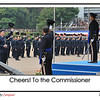 Mr. TANG King-shing, the Commissioner of Police, attended the Passing Out Parade as the Reviewing Officer in his last day in the Hong Kong Police Force