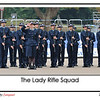 The first woman rifle squad in the Passing Out Parade in the history of Hong Kong Police College (previously Police Training School)