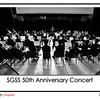 The performance of the SGSS Orchestra at the Jockey Club Auditorium, HK Polytechnic University during the school's 50th Anniversary Concert cum Musical.