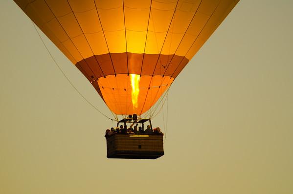 Napa CA - Fall 2011 - Hot Air Ballooning