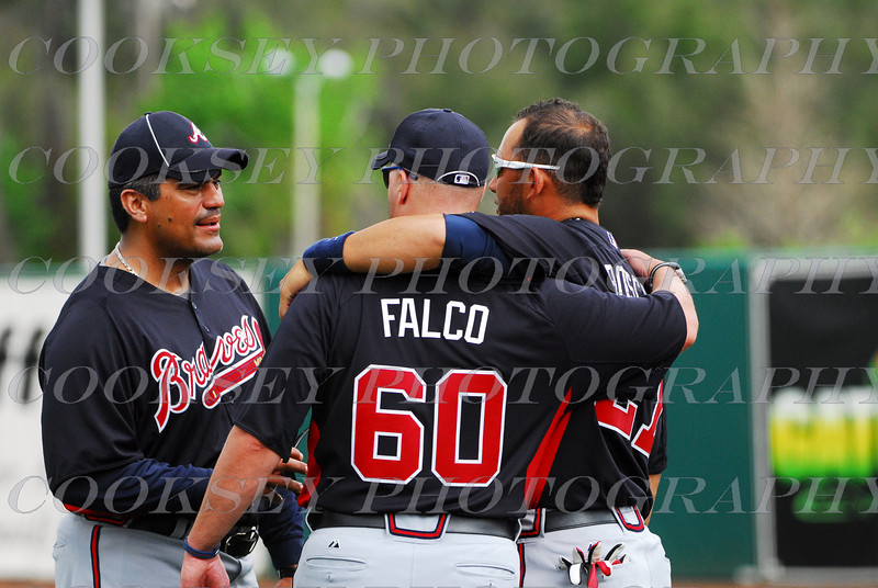 Perez, Falco and Boscan - Atlanta Braves Spring Training 2011