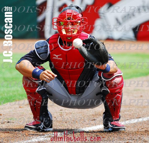 J.C. Boscan - Atlanta Braves Spring Training 2011