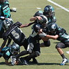 #23 carrying the ball