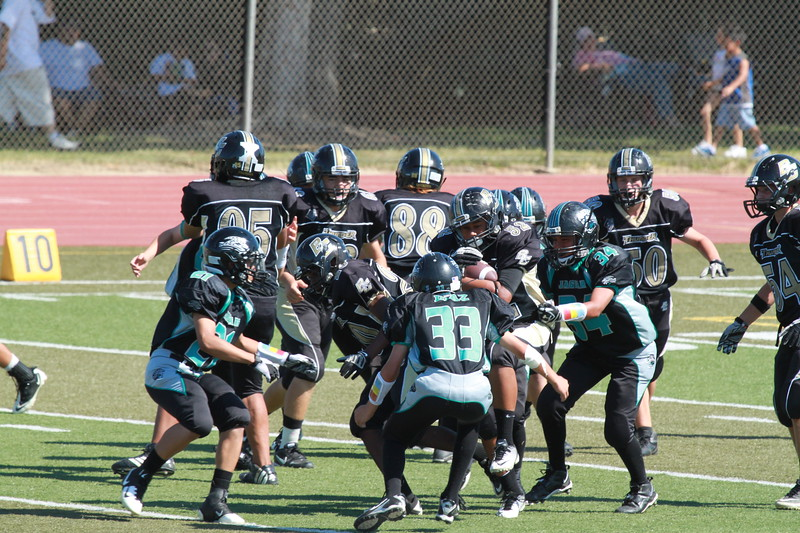 #52 carrying the ball