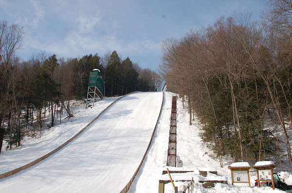 Harris Hill Ski Jump:  Brattleboro VT - February 17-20, 2011