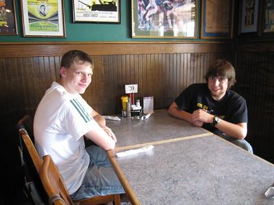 Nate Millen and Justin Dahl.