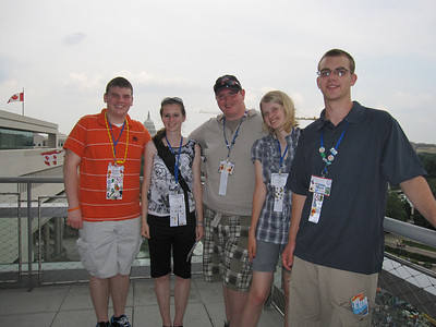 Taken from the balcony of the Newseum.