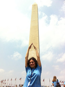 Anne and the Washington Monument