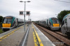 Three ICR Units at Ballybrophy with 22029 in the Nenagh Bay and 22008 is about to couple to 22001 on the down main before operating empty to Thurles to pick up the passengers off the failed 0910 Limerick - Heuston G.A.A. Special. Sun 04.09.11
