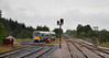 22029 departs Ballybrophy and takes the spur off the branch to the main line and heads for Dublin. Sun 04.09.11