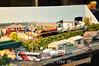The excellent N Gauge Carlow Station layout on display at the Wexford Model Rail & Transport Show 2011. Mon 25.04.11