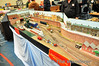 The Commerical Quay layout on display at Wexford Model Rail & Transport Show 2011. Mon 25.04.11