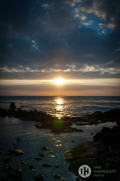 Sunset at Anaeho'omalu Bay