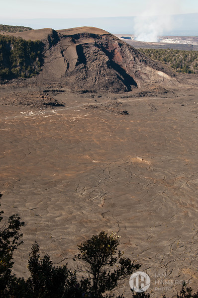 Looking Down into Kīlauea Iki Crater