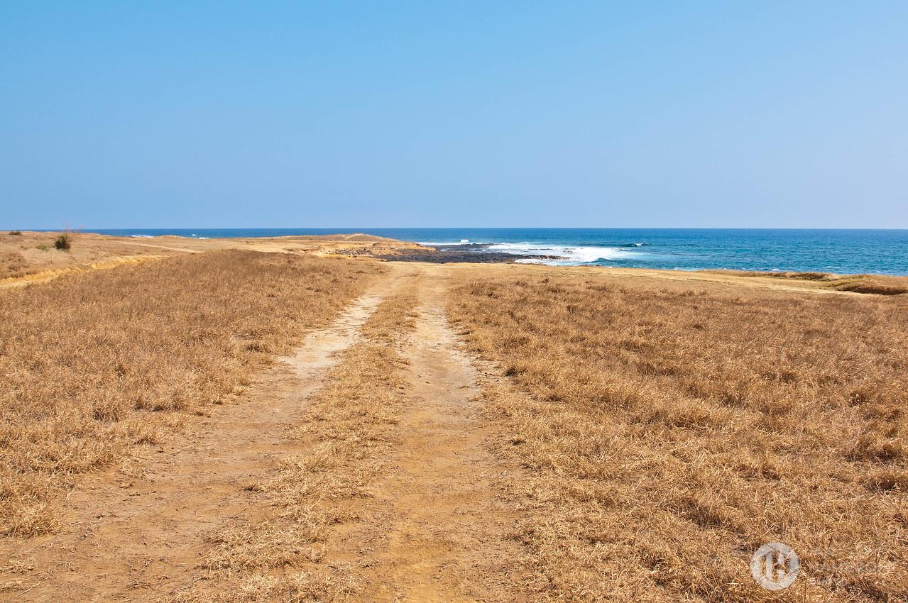 Path Ways to Papakōlea Beach