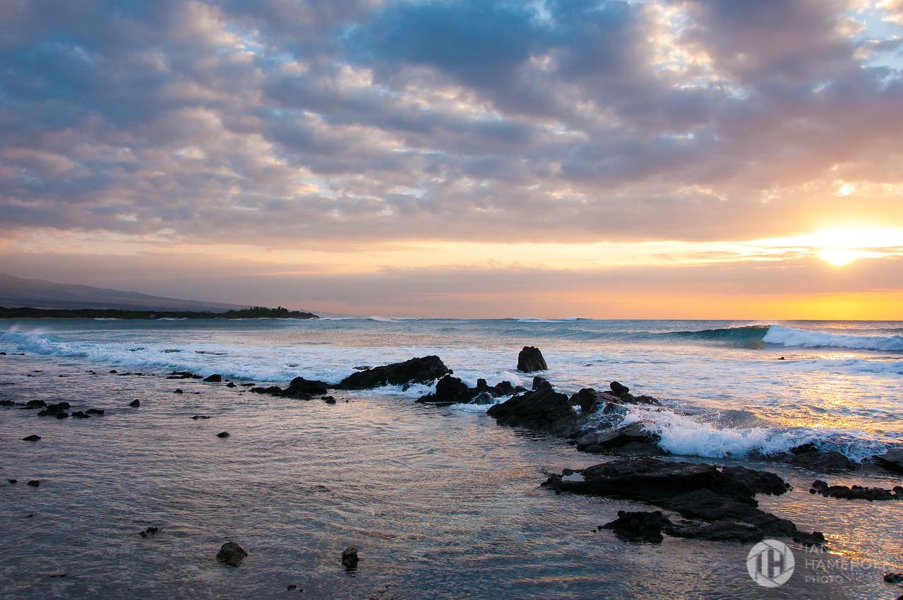 Sunset on A'Bay