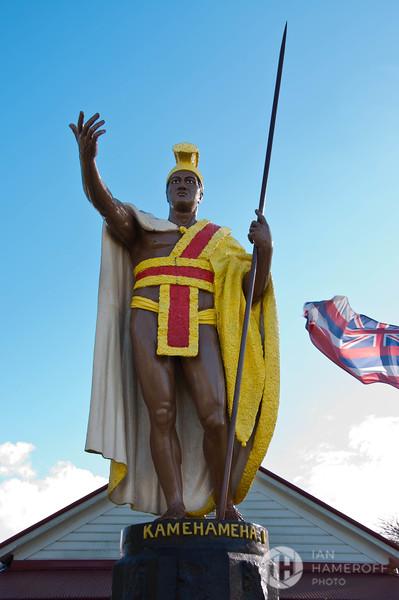 King Kamehameha Statue of Kapa'au