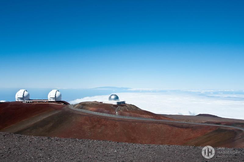 Mauna Kea Observatory Above the Clouds