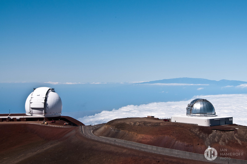 The Keck and NASA Telescopes